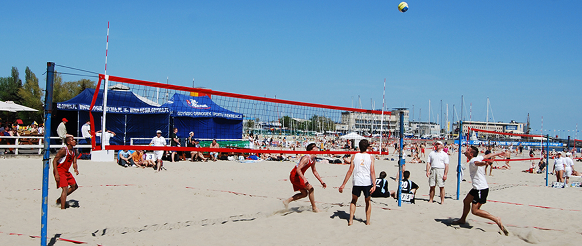 Beachvolley Sportsbriller Profil Optik