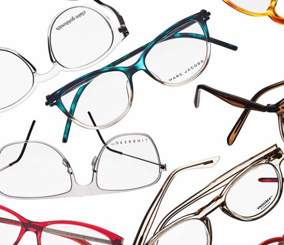 Skillnad på glasögonbågar