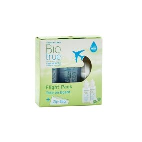 BioTrue multi-purpose solution Flight Pack 2x60 ml