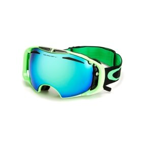 Oakley '80s Green PRIZM Airbrake Snow OO7037-29